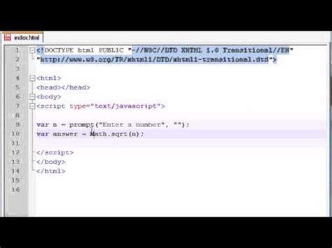 javascript tutorial math beginner javascript tutorial 36 math objects youtube