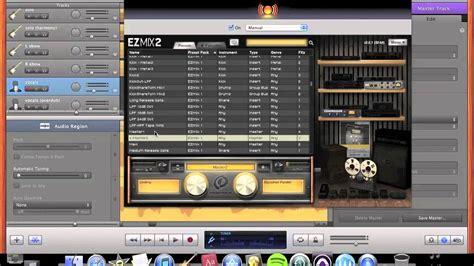 Garageband Recording Vocals Garageband Ezmix Mixing Tutorial Pt 5 Vocals Mastering