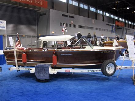 nmma chicago boat show live ish from the chicago boat show classic boats