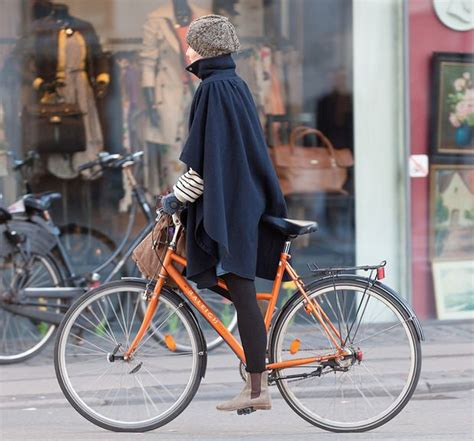 Cycling Chic Style by Cape And Boots Stylish Combo For Fall Cycling In The City