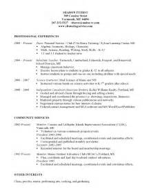Tutor Resume by About Fuerst