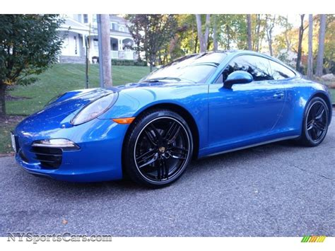 porsche blue metallic 2015 porsche 911 4 coupe in sapphire blue metallic
