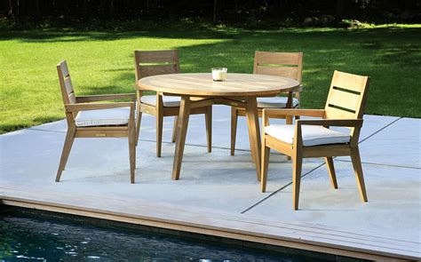 teak patio furniture sets modern teak outdoor furniture decorating front yard