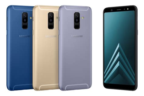samsung galaxy a6 and a6 plus release date specs and more