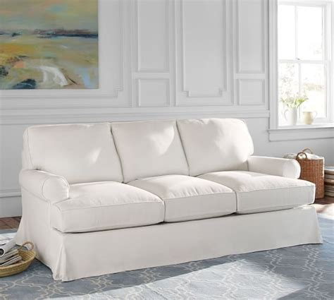 pottery barn townsend sofa townsend roll arm slipcovered sofa collection pottery barn