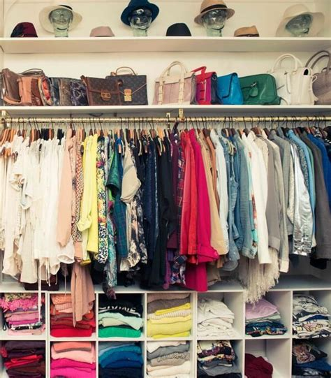 1000 ideas about color coordinated closet on