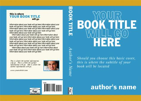 simple book cover template master press christian book publishing company
