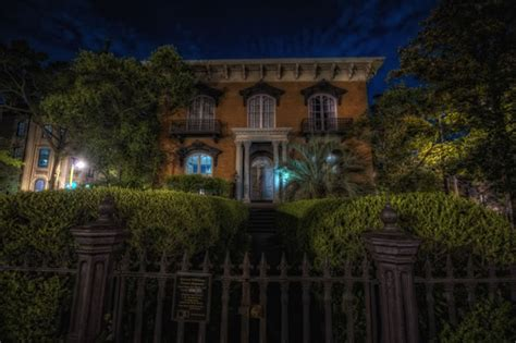 mercer house tour haunted houses in savannah ghost city tours