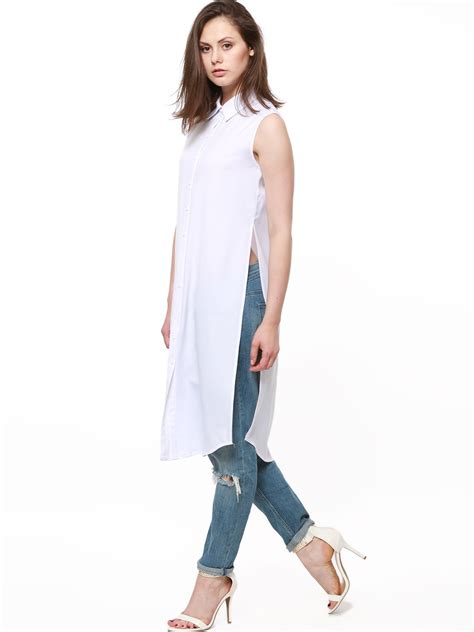 Maxi Blouse buy catwalk 88 sleeveless longline maxi blouse for