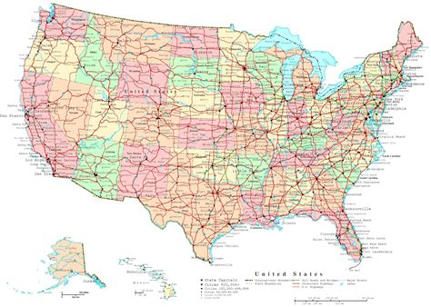usa road trip map map of the us states printable united states map jb s