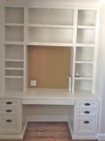 Bookshelves And Desk Built In Diy Built In Bookcase And Desk Perfect On The Opposite