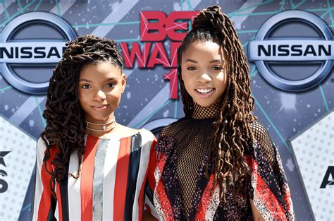chloe and halle bailey feet inspirational jam quot babybird quot chloe x halle imperfectly b