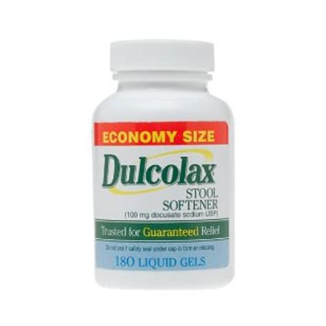 Stool Softener Suppository by Dulcolax Stool Softener Liquid Gels