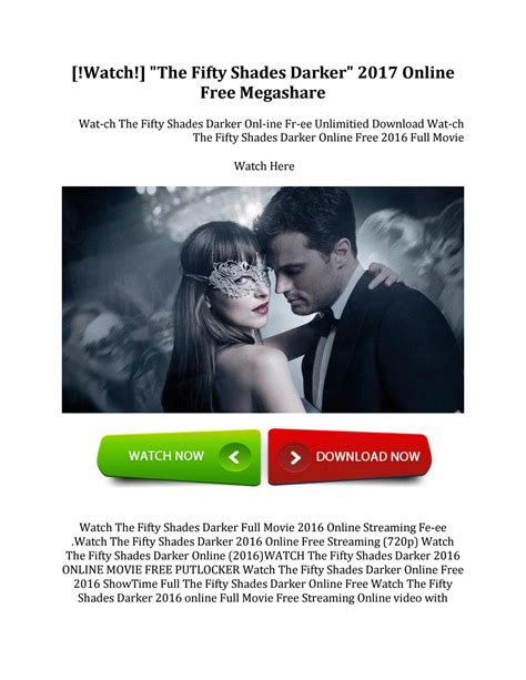 Or 2018 Putlockers Watchthe Fifty Shades Darker 2017 Free Megashare By Issuu