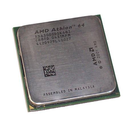 Sockel 939 Cpu by Amd Ada3000dik4bi Athlon 64 3000 1 8ghz Socket 939 Processor Ebay