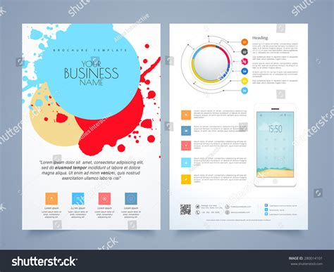 infographic brochure template image gallery infographic flyer