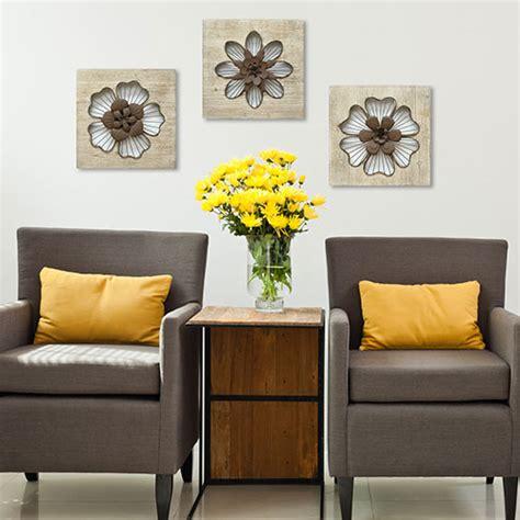 wire wall home decor stratton home d 233 cor rustic wire flower wall d 233 cor boscov s