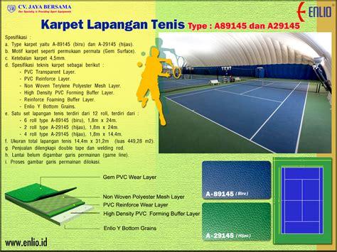 Karpet Lantai Badminton lantai lapangan olahraga enlio id