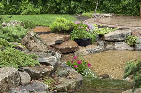 Aquascape Patio Pond by Aquascape Your Landscape July 2011