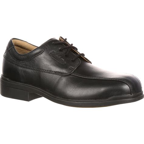 blundstone executive steel toe dress oxford work shoe blu780