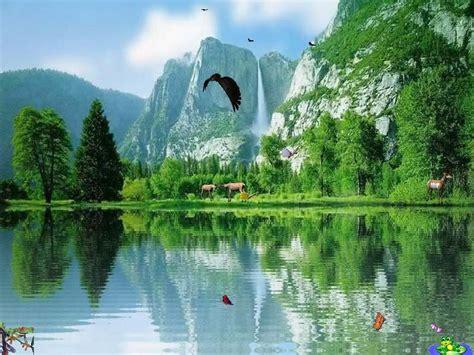 popular wallpapers free popular screensaver charming waterfalls