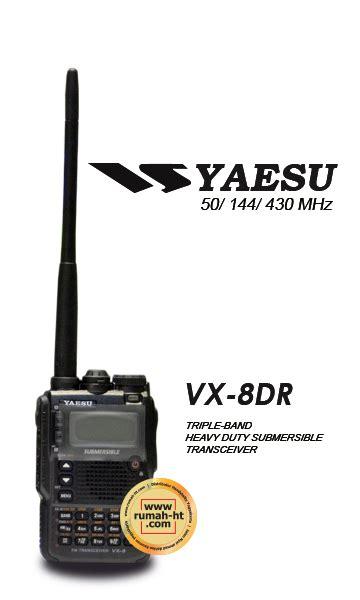 Jual Yaesu Vx 8dr Berkualitas yaesu 187 187 jual alat radio komunikasi ht handy talky
