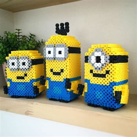 perler minion 118 best images about minions on