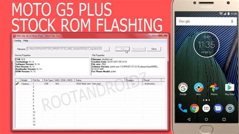 tutorial flash moto g moto g5 plus stock rom flashing unbrick unroot moto g5