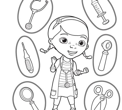 dr mcstuffins coloring pages az coloring pages