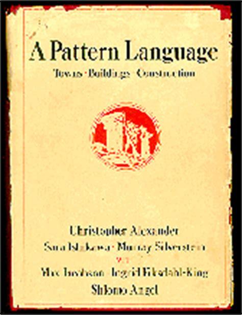 Pattern Language Book | design matrix pattern languages