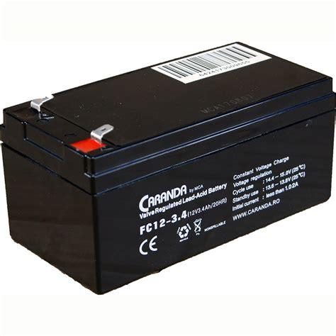 Www Mba 3 4 by Baterie Stationara 12v 3 4ah Fc12 3 4 Caranda