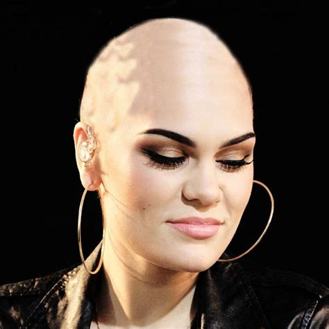 is imus bald or real hair jessie j confirms date to shave head for red nose day 2013