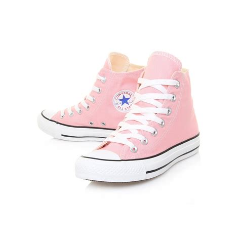 light pink womens chuck all hi pale pink converse shoe