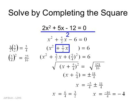 Solve By Completing The Square Worksheet by 28 Solving Equations By Completing The Square Worksheet