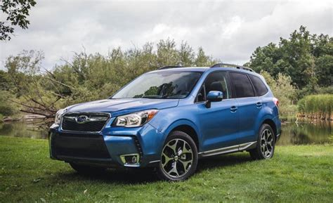 subaru forester xt 2016 2016 subaru forester 2 0xt test review car and driver