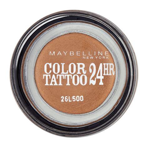 color tattoo cream eyeshadow maybelline maybelline new york color tattoo 24hr gel cream eyeshadow