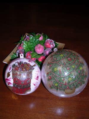lade di plastica come costruire le palline per l albero di natale