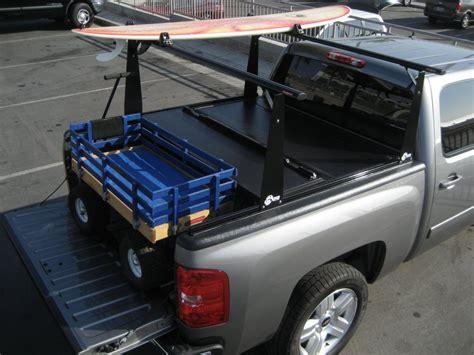 bakflip cs hard folding tonneau cover  rack mobile living truck  suv accessories