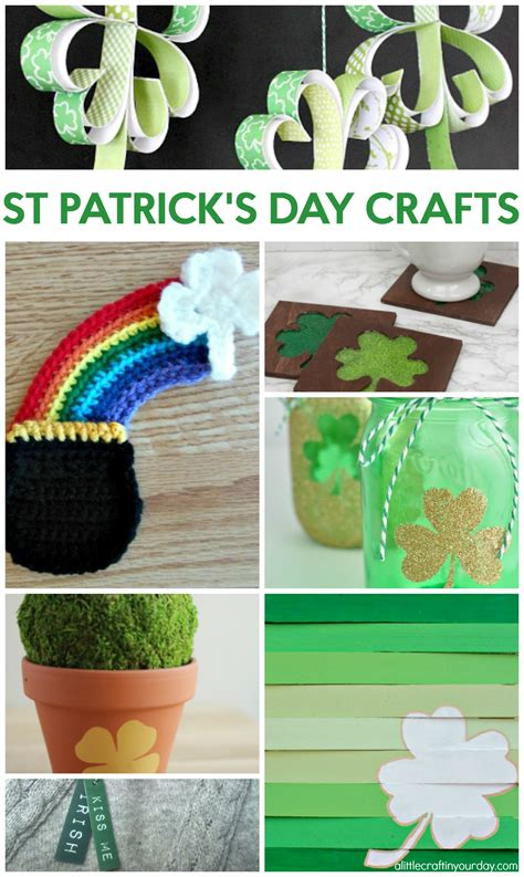 st patrick s day crafts a little craft in your day