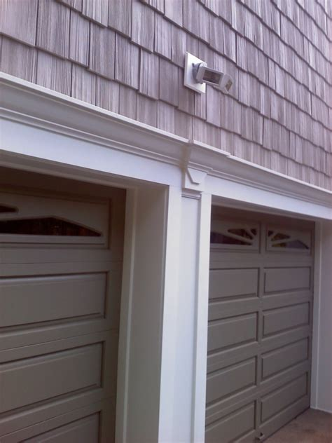 Garage Door Frames Methods Of Wrapping O Garage Door Frame Carpentry Architect Age