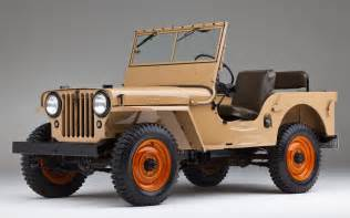 1945 willys overland model cj2a front three quarters photo 12