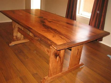 Custom Arts And Crafts Dining Table By Rockytop Woodworks Arts And Crafts Dining Table Plans