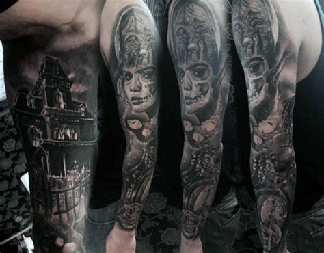 house tattoo top 100 best sleeve tattoos for cool designs and ideas