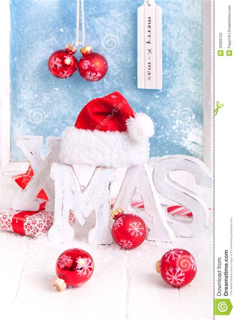 x mas decoration stock photos image 32900723