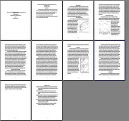 Layout Of Essay by Sle Paper Layout