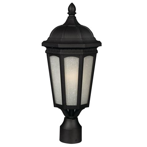 Outdoor Post Light Base Gama Sonic Flora Solar Antique Bronze Outdoor Post Light With Pier Base Gs 113p The Home Depot