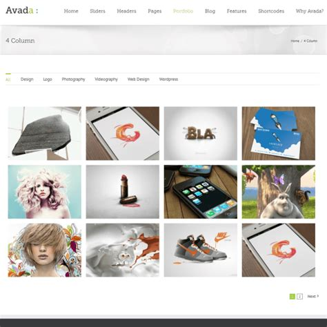 avada theme grid themeforest avada review read b4 buy