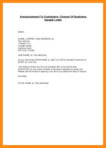 Business Letter Closings Uk 5 Letter Of Closing Business Actor Resumed