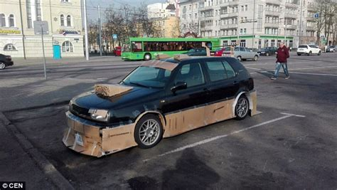 News More And The City Spoliers 2 by Russians Modify Cars With Cardboard Spoilers As Eu