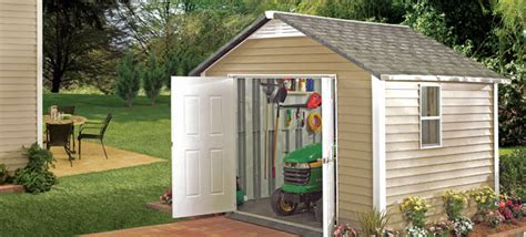 prefabricated vinyl outdoor storage buildings comparison homestyles  tuff shed